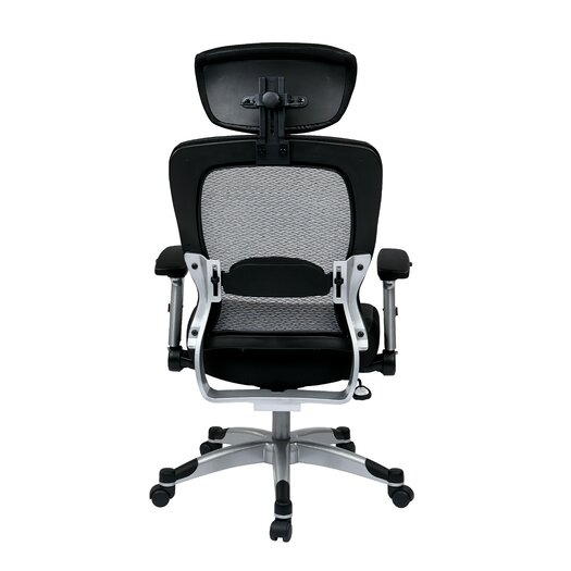 "Office Star Products Space 22.5"" Eco Leather Seat Chair"