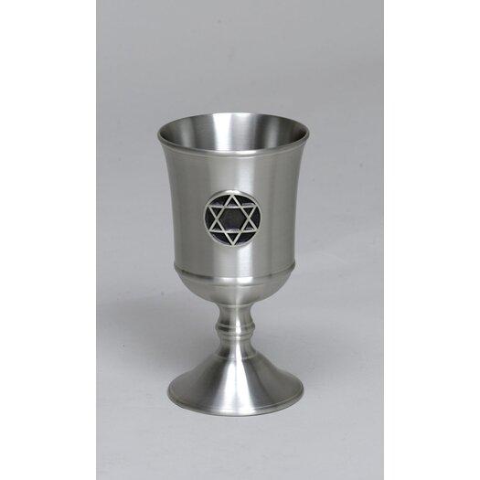 Israel Giftware Design Pewter Kiddush Cup