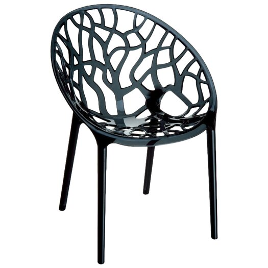Compamia Crystal Stacking Side Chair
