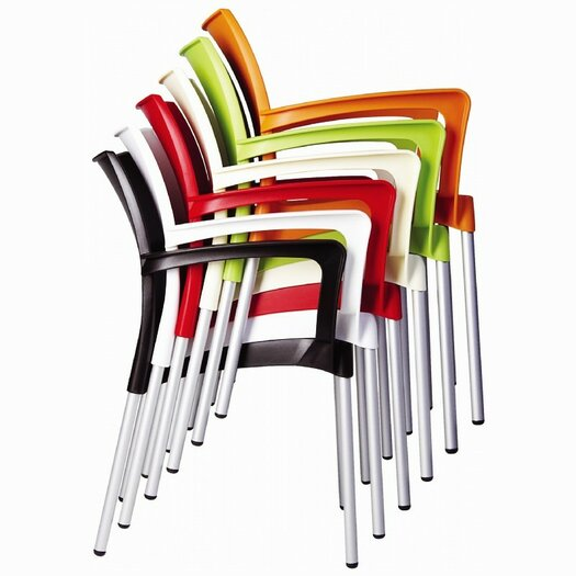 Compamia Dolce Stacking Dining Arm Chair