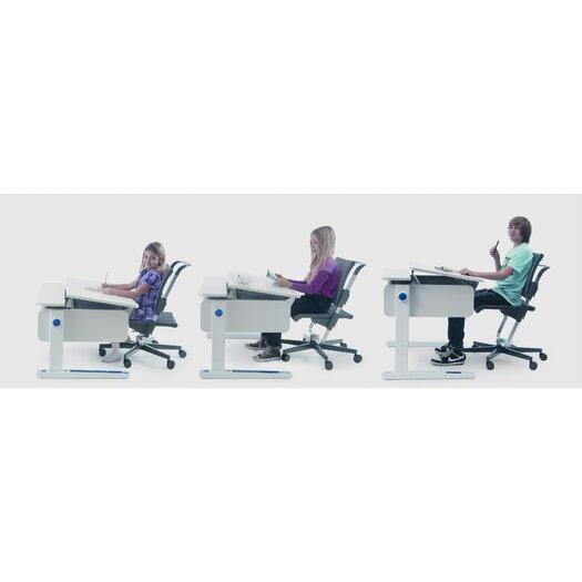 Bindertek Dealer Solutions Champion Kids Adjustable Desk Front Up