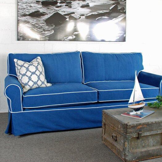 Huntington Industries Sandy Slipcovered Sofa