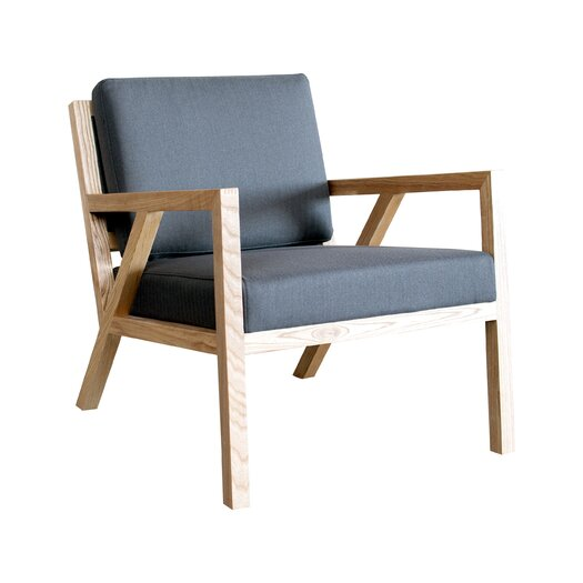 Gus* Modern Truss Arm Chair