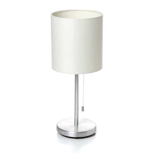 "EGLO Sendo 14"" H Table Lamp with Drum Shade"