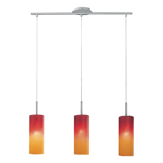 EGLO Troy 1 3-Light Kitchen Island Pendant
