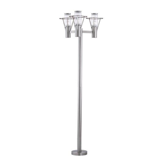"""EGLO Belfast 3 Light 86.75"""" Outdoor Post Lantern Set"""