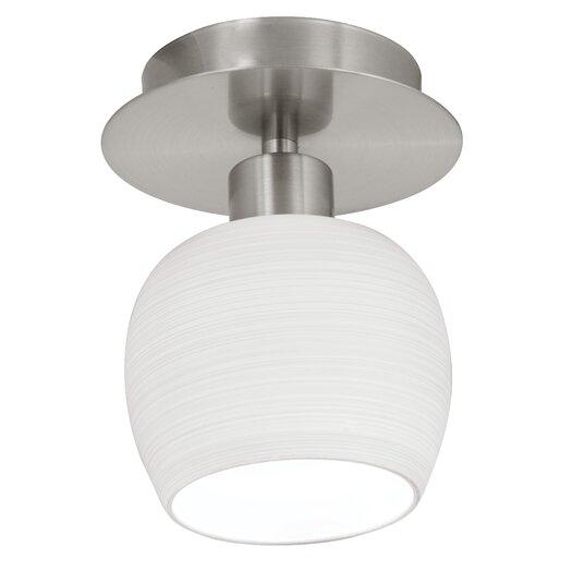 EGLO Bantry 1 Light Semi Flush Ceiling Light