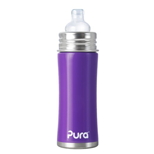 Pura Kiki Toddler Sippy Bottle with Silicone Sippy Spout