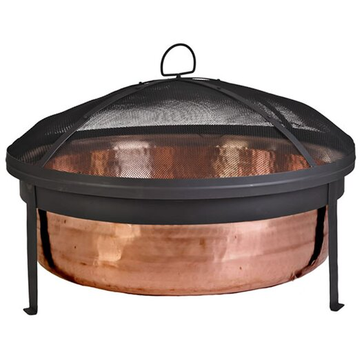CobraCo Fire Pit with Wrought Iron Stand