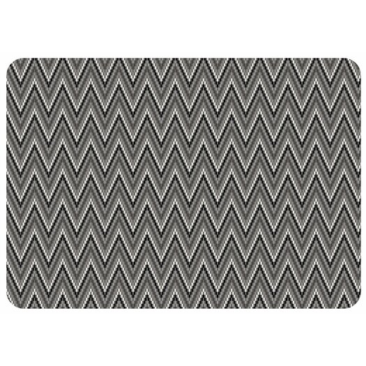 Bungalow Flooring Chevron Weave Decorative Mat