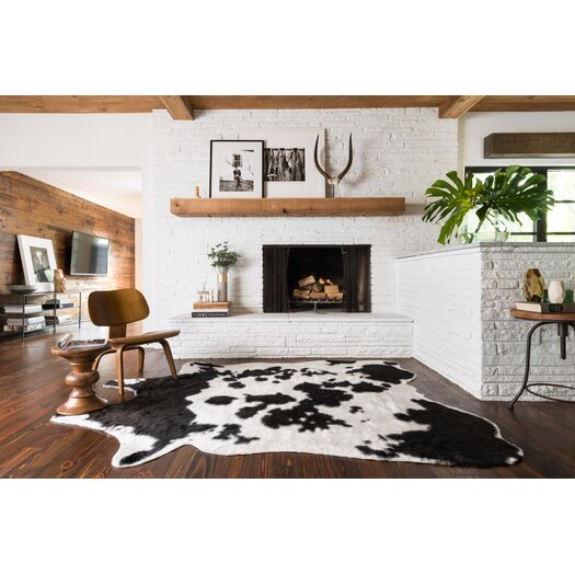Loloi Rugs Grand Canyon Ivory/Black Area Rug