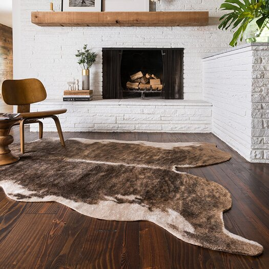 Loloi Rugs Grand Canyon Cream & Light Brown Animal Print Area Rug