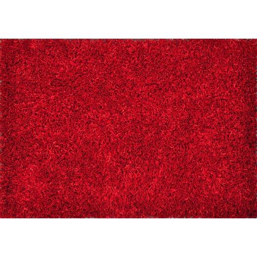 Loloi Rugs Carrera Shag Red Area Rug