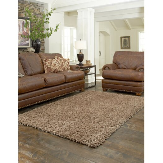 Loloi Rugs Hera Mocha Brown/Tan Solid Area Rug