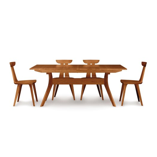 """Copeland Furniture Audrey 60 - 84""""W Extension Dining Table"""