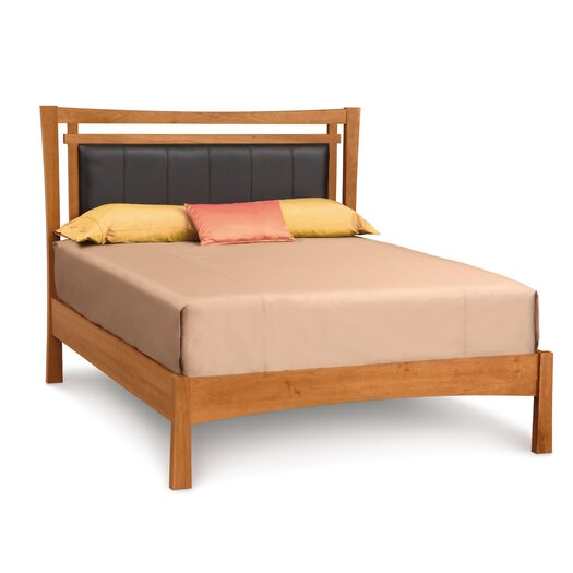 Monterey Upholstered Microsuede Panel Bed