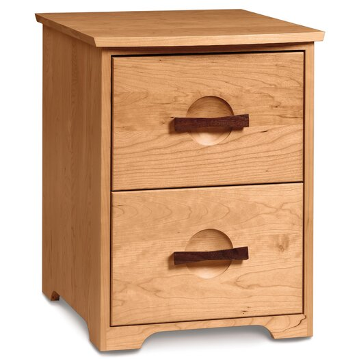 Copeland Furniture Berkeley 2-Drawer  Rolling File