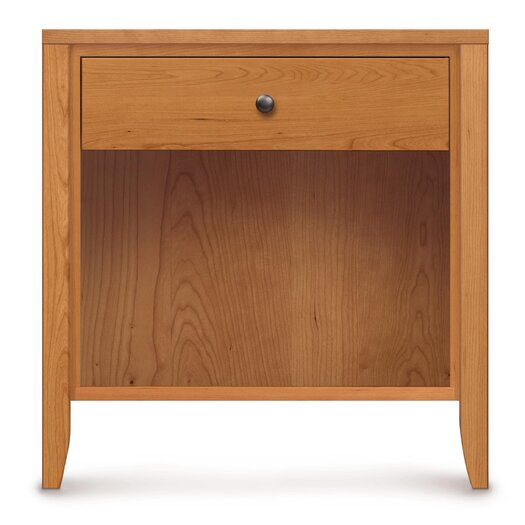Copeland Furniture Dominion 1 Drawer Nightstand with Flush Mounted Top