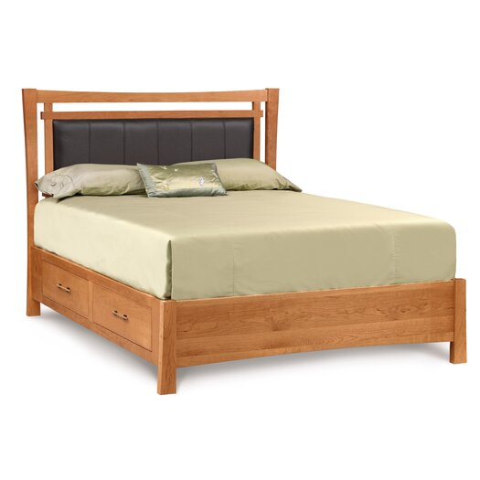 Monterey Upholstered Fabric Storage Bed