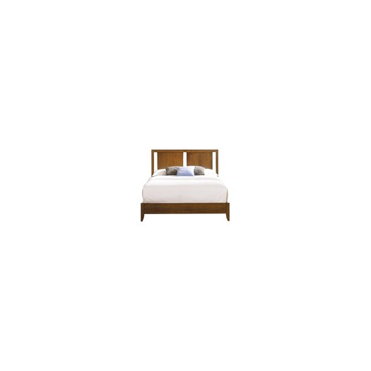 Copeland Furniture Dominion Platform Bed with Two Panel Headboard