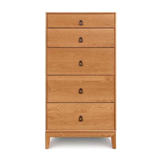 Copeland Furniture Mansfield 5 Drawer Chest