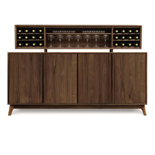 Copeland Furniture Catalina 4 Door Buffet with Hutch