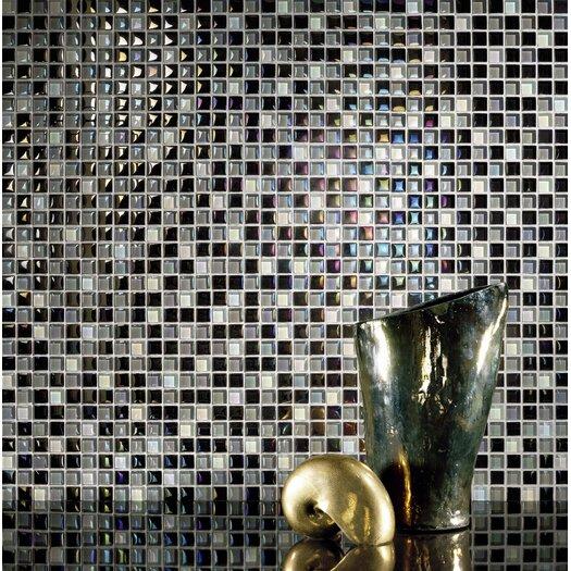 Casa Italia Metallica Glass Mosaic in Mix Metallica Grigio