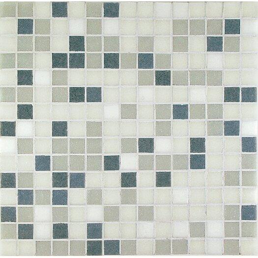 Casa Italia Project Base Glass Mosaic in Grey Mix Basic