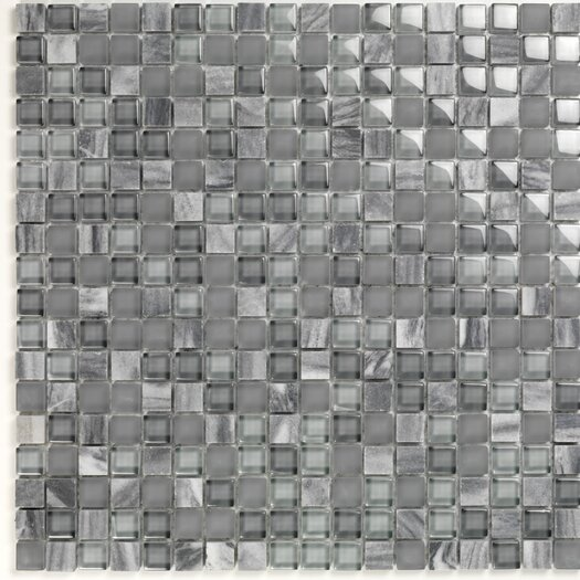 Casa Italia Pure & Natural Natural Stone and Glass Mosaic in Pure Blue Stone