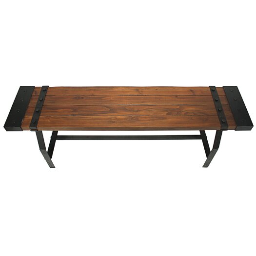 Aspire Elkhart Wood Entryway Bench