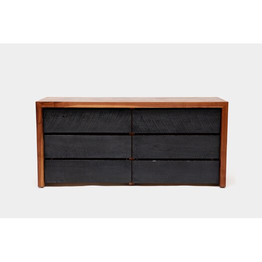 SQR 6 Drawer Dresser