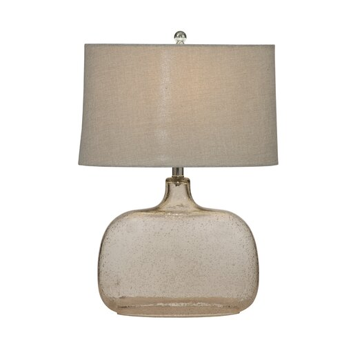 "Bassett Mirror Portman 24"" H Table Lamp with Drum Shade"
