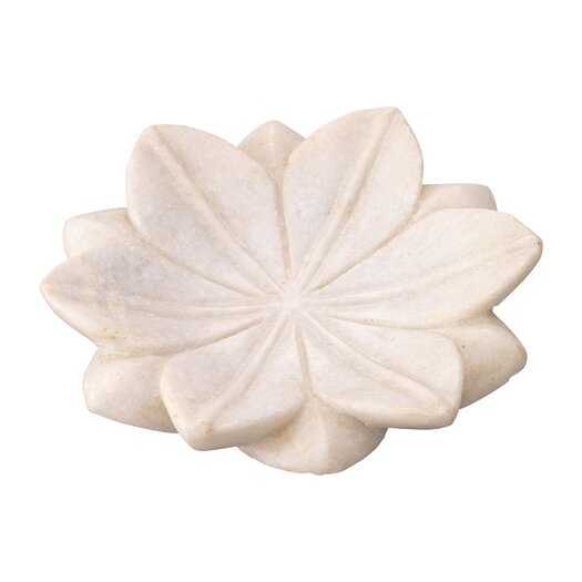 Jamie Young Company Lotus Marble Plate