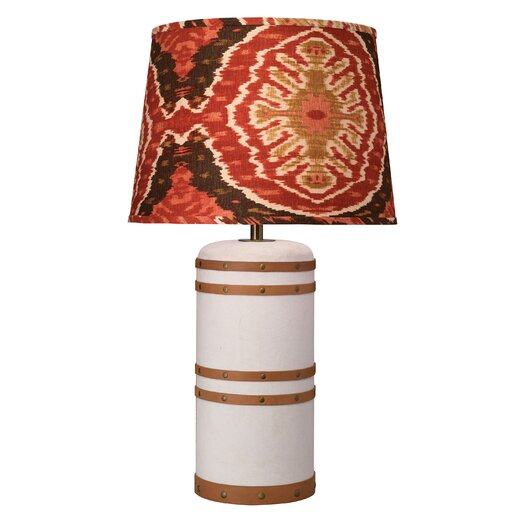"Jamie Young Company Barrel 30"" H Table Lamp with Empire Shade"