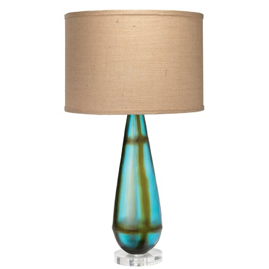 "Jamie Young Company Tie Dyed 31.5"" H Table Lamp with Drum Shade"