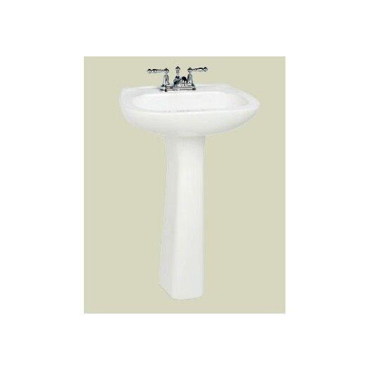 St Thomas Creations Marathon Grande Pedestal Bathroom Sink