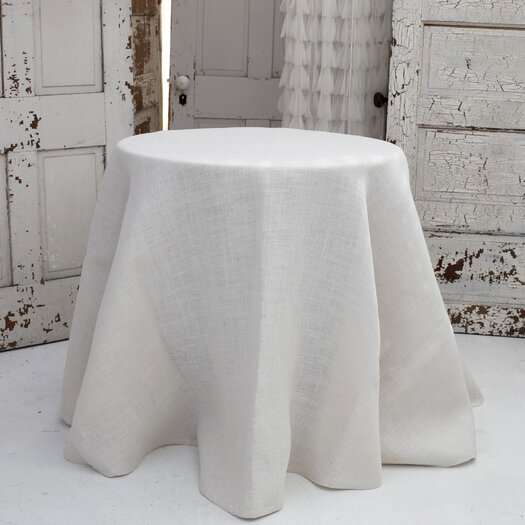 Couture Dreams Solid Jute Tablecloth
