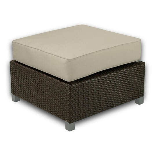 Patio Heaven Skye Ottoman with Cushion