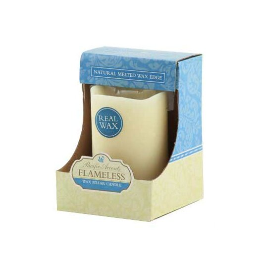 Pacific Accents Melted Wax Pillar Candle