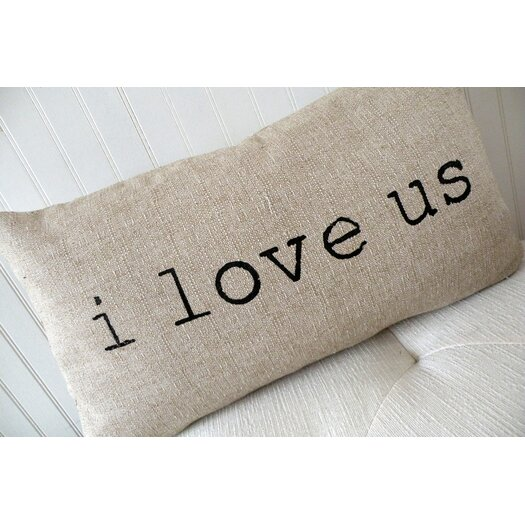Elisabeth Michael I Love Us Pillow