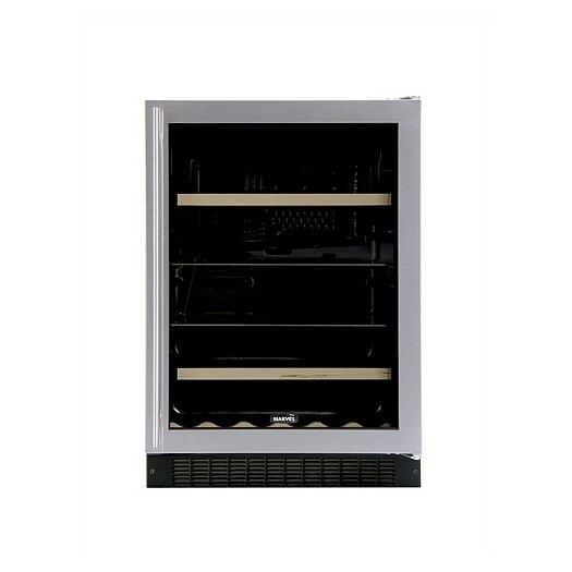 Marvel Appliances Luxury 14 Bottle Dual Zone Built-In Wine Refrigerator