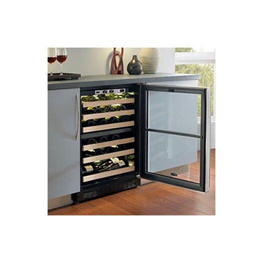 Marvel Appliances Chateau 44 Bottle Dual Zone Built-In Wine Refrigerator