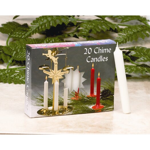 Biedermann and Sons Chime Candles (Set of 10 Boxes of 20 Candles Each)