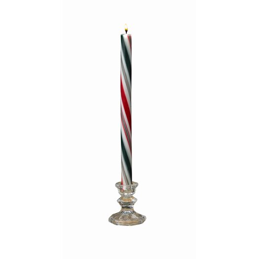 Biedermann and Sons Candycane Taper Candles