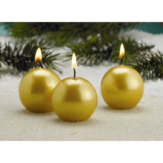 Biedermann and Sons Metallic Candles