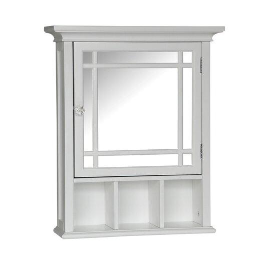 "Elegant Home Fashions Neal 20"" x 24.13"" Surface Mount Beveled Edge Medicine Cabinet"