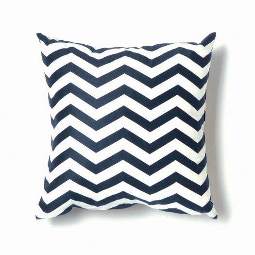 ZigZag Pillow in Navy