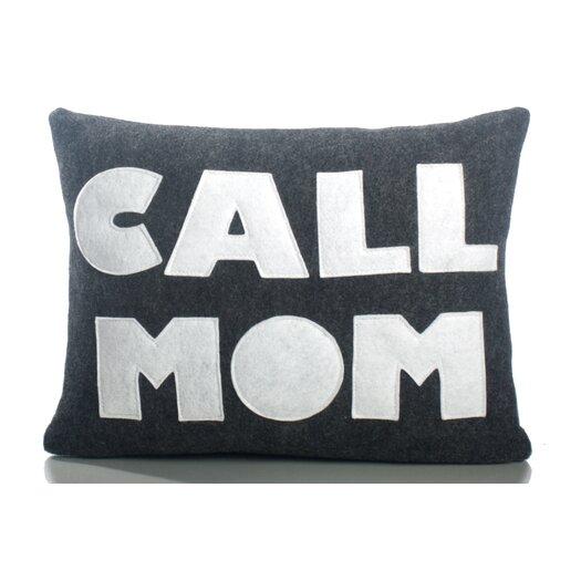 """Alexandra Ferguson """"Call Mom"""" Decorative Pillow"""