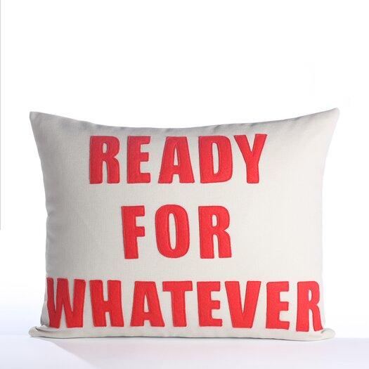 Alexandra Ferguson Ready for Whatever Pillow