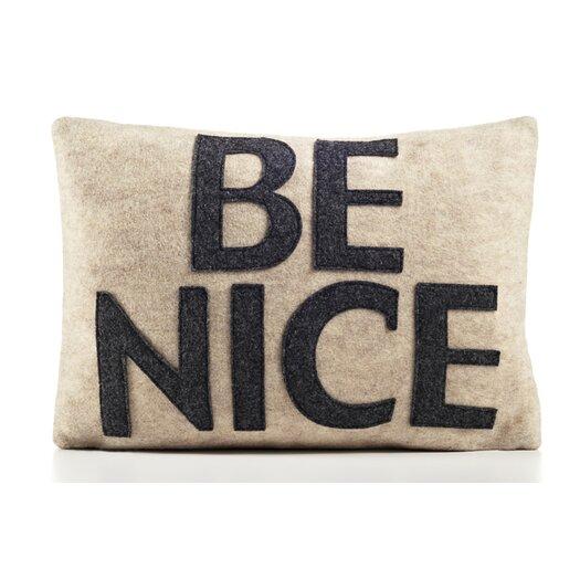 "Alexandra Ferguson ""Be Nice"" Decorative Pillow"